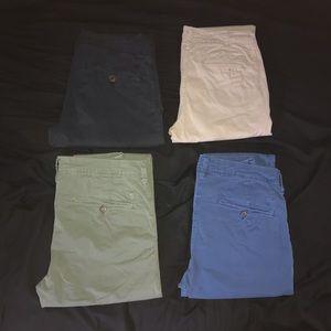 6 American Eagle Khaki bundle!